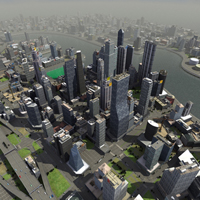 City Simulation Model