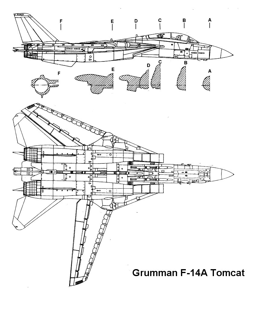 Lovely Gruman F14A Tomcat, Part 2