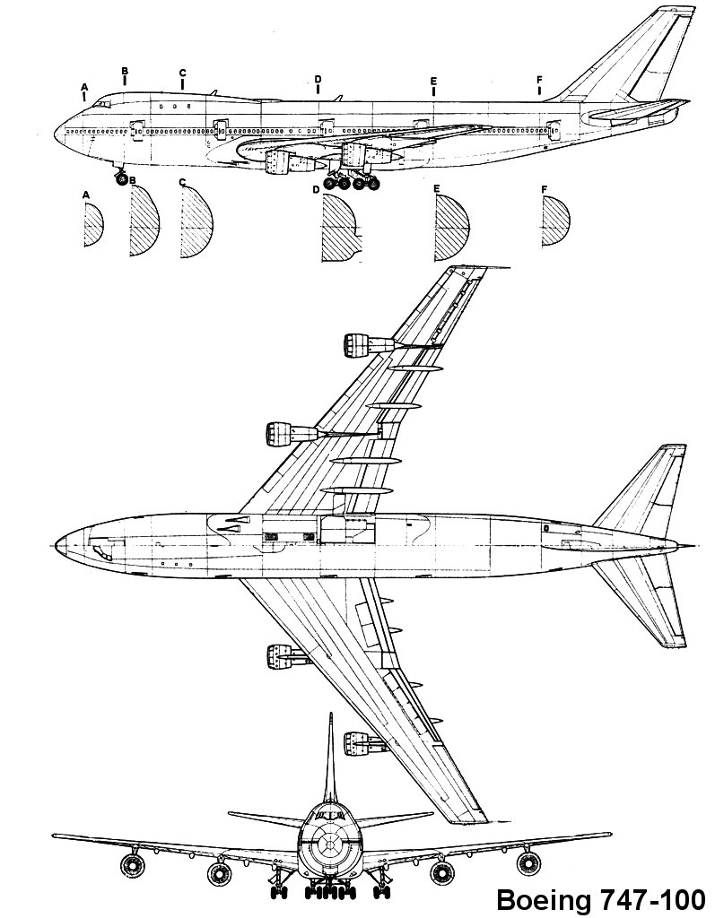 airplane blueprint